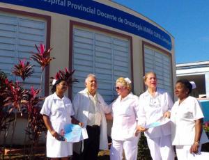 El Hospital Oncológico María Curie, de Camagüey, cuenta con un colectivo altamente reconocido por la calidad en la labor asistencial y docente. Fotos del autor Foto: del autor