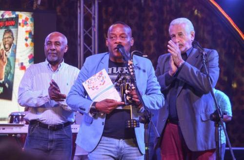 Elito Revé y su Charangón, ganador del premio Cubadisco, encabezará el festival. Foto: Yander Zamora