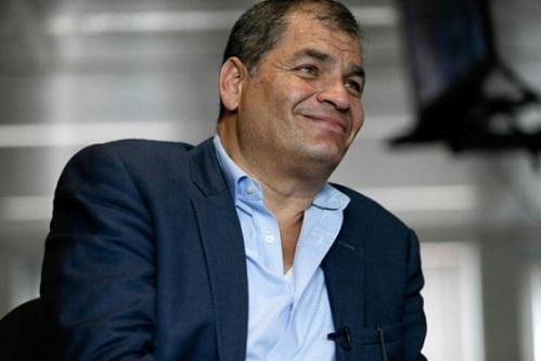 Justicia de Ecuador ratifica prisión preventiva contra expresidente Correa