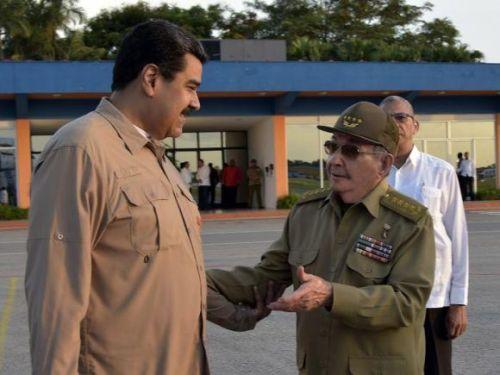 Raúl Castro se entrevistó con Nicolás Maduro en La Habana
