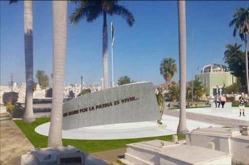 Erigen monumento a Perucho Figueredo, autor del Himno Nacional cubano