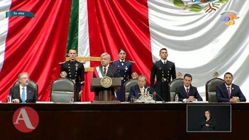 Toma posesión como presidente de México Andrés Manuel López Obrador