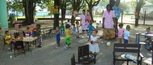 Círculos Infantiles en Cuba una obra de gran humanismo
